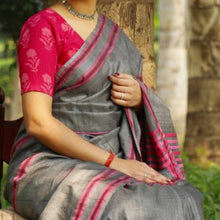 Load image into Gallery viewer, Sreema Eco Tasar Sustainable Silk Saree