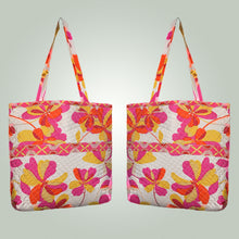 Load image into Gallery viewer, Silk Quilted Tote Bag