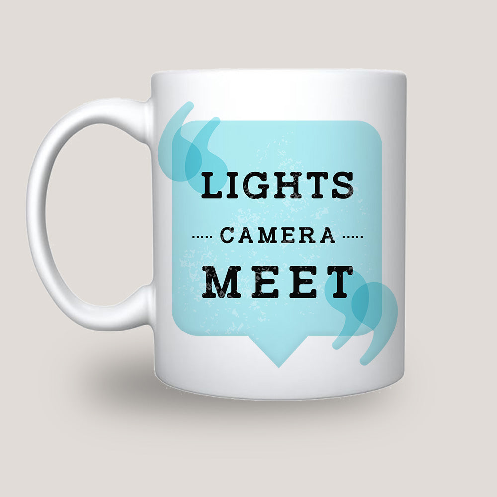 Light Camera Meet Coffee-Tea Mug