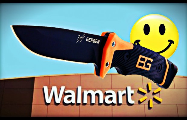 Knives at Walmart: Out-of-Step