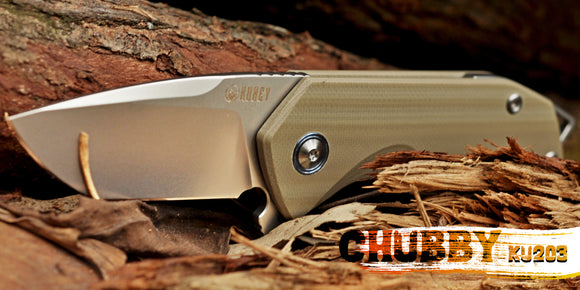 Buy Kubey Chubby On KnifeGlobal Store - Folding Pocket Knife With D2 Blade For Hunting Tacticle