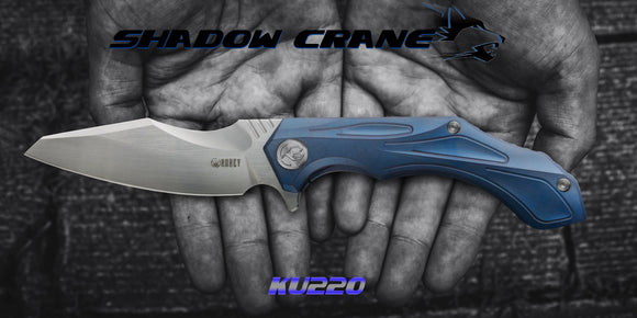 Buy Kubey Shadow Crane On KnifeGlobal Store - Folding Pocket Knife With Bohler M390 For Hunting Tacticle Camping
