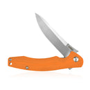 "KUBEY KU176 EDC Folding Knife [3.5""Satin Drop Point D2, G10] - KnifeGlobal Store"