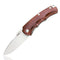 "GEO GEO903 Folding Knife [3.1"", D2, Sandblast Wood] - KnifeGlobal Store"