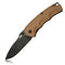 "GEO GEO903D Folding Knife [3.1""D2, G10/Wood] - KnifeGlobal Store"