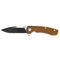 "GEO GEO901 EDC & Outdoor Survival Folding Knife [3.3""Drop Point D2, G10]"