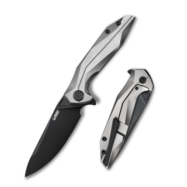 KUBEY Nova KU235E D2 6AL4V Titanium Outdoor Folding Knife