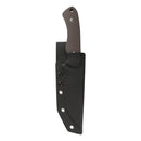 "KUBEY KU240 Survival and Camping Full Tang Fixed Blade Knife [5.2""Sandwash Drop Point D2, G10] - KnifeGlobal Store"