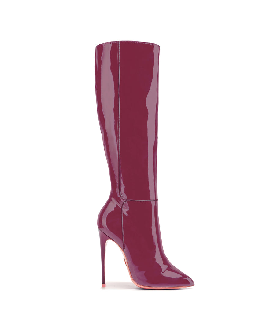 Hydor Maroon Patent · Ada de Angela High Heels Boots · Custom Made · Ada de Angela Boots · Luxury High Heels Boots · Luxury Boots · Knee High Boots · Stiletto · Leather BootsHydor Maroon Patent · Ada de Angela High Heels Boots · Custom Made · Ada de Angela Boots · Luxury High Heels Boots · Luxury Boots · Knee High Boots · Stiletto · Leather Boots