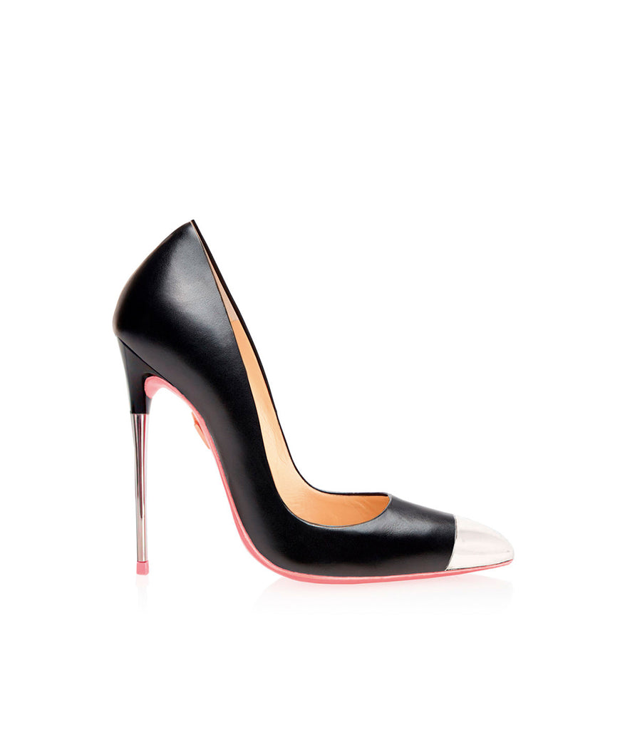 Subra Black  · Ada de Angela High Heels Shoes · Custom Made Shoes · High Heels Shoes · Luxury High Heels · Pumps · Stiletto · High Heels Stiletto