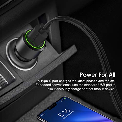 oraimo Bullet-PD 36W PD & QC3.0 Fast Charging Car Charger