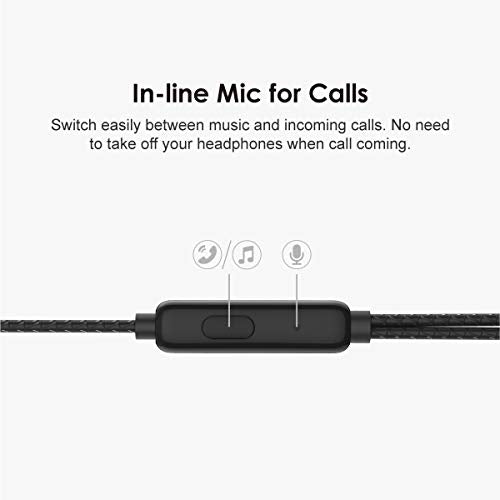 oraimo Halo-S Reinforce Cable Half-in-Ear Wired Earphones - Online Exclusive