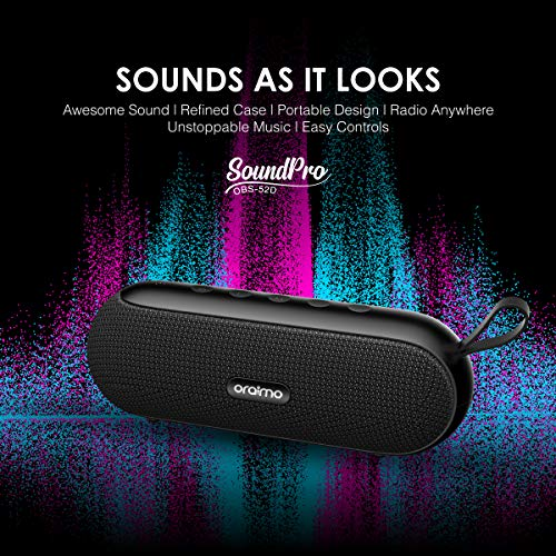 oraimo SoundPro Portable 10W Wireless Bluetooth Speaker Muti-Model Music Play Support