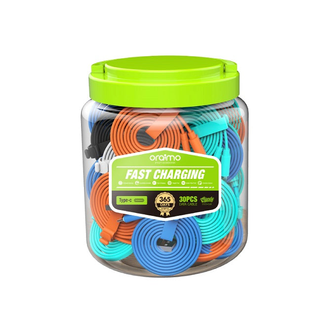 oraimo Candy Type-C Fast Charging Flat Cable