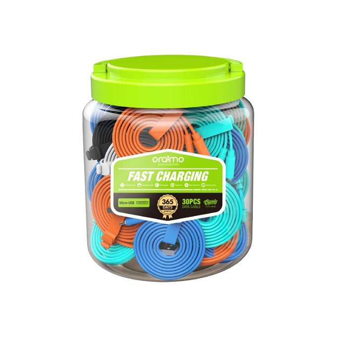 oraimo Candy Micro USB Fast Charging Flat Cable