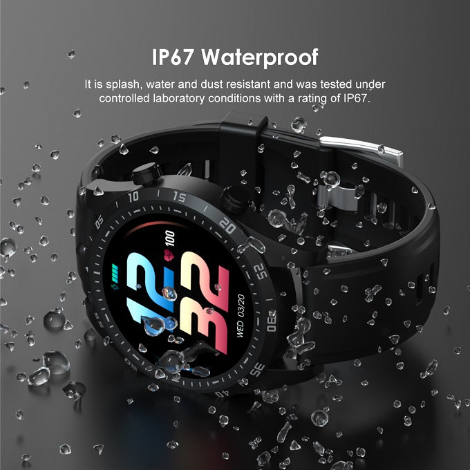 oraimo Tempo-W2 IP67 Waterproof 24 Training Modes Smart Watch
