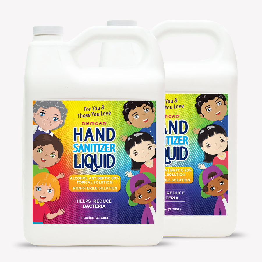 Dumond Family Hand Sanitizer - 1 Gallon - Pack of 2 - Dumond  Hand Sanitizers