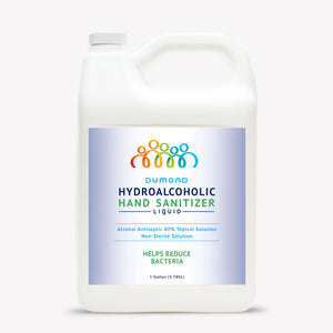 Hydroalcoholic Hand Sanitizer - 1 Gallon - Dumond  Hand Sanitizers