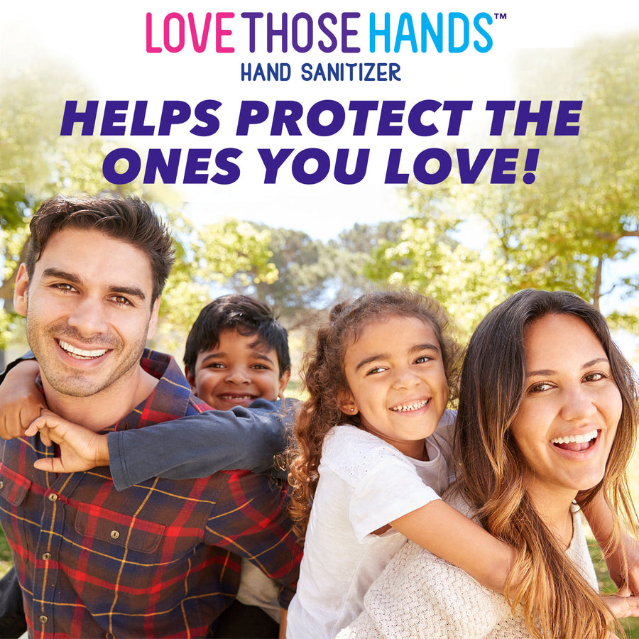 Love Those Hands™ Family - 1 Gallon - Pack of 4 - Dumond  Hand Sanitizers
