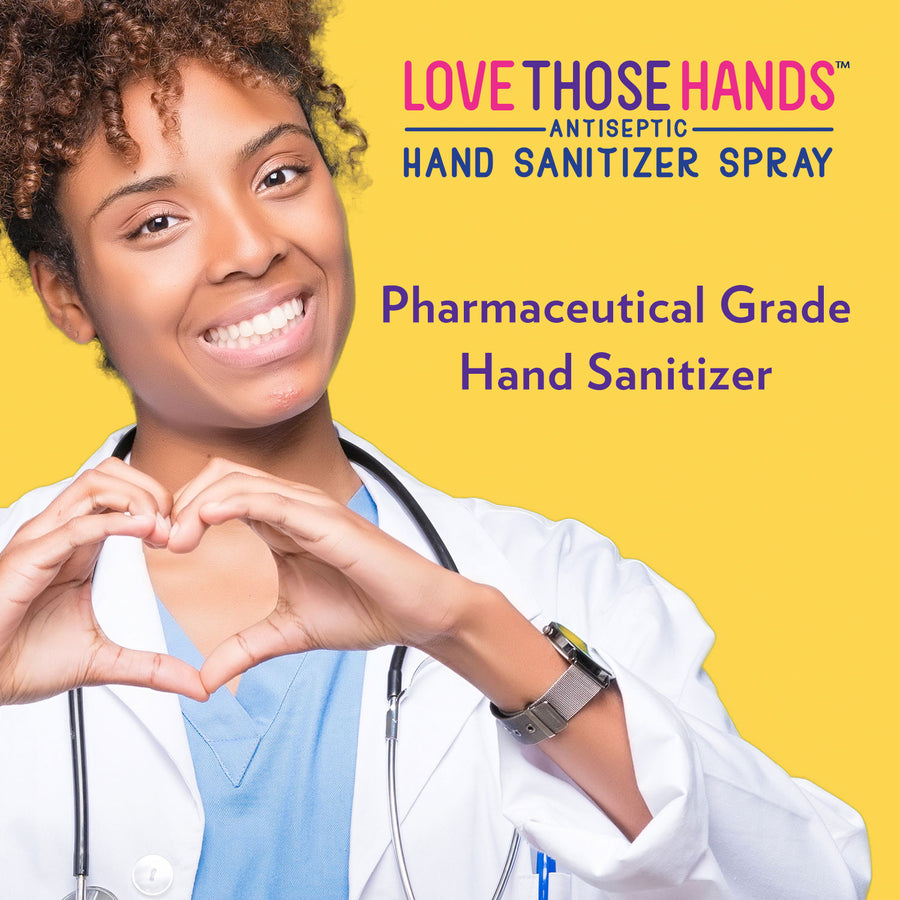 Love Those Hands™ Antiseptic Hand Sanitizer - 16 oz - Pack of 6 - Dumond  Hand Sanitizers