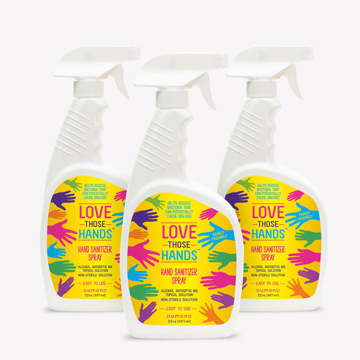 Love Those Hands™ Family - 22 oz - Pack of 3 - Dumond  Hand Sanitizers