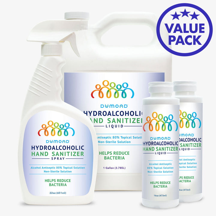 Hydroalcoholic Hand Sanitizer Value Pack - Dumond  Hand Sanitizers