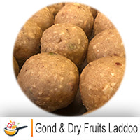 Gond & Dry Fruits Laddoo (4 per pack)