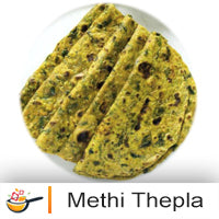 Methi Thepla (10 per pack)