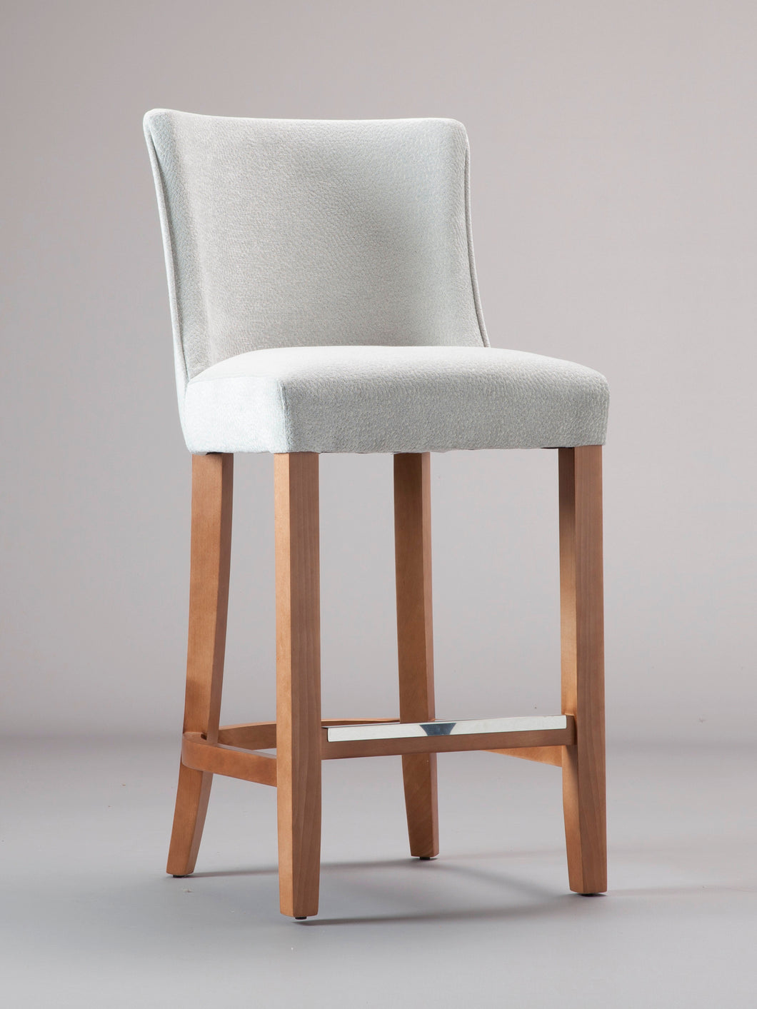 Greenwich Bar Stool with Medium Oak Finish
