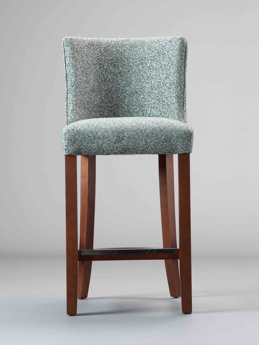 Greenwich Bar Stool with Walnut Finish