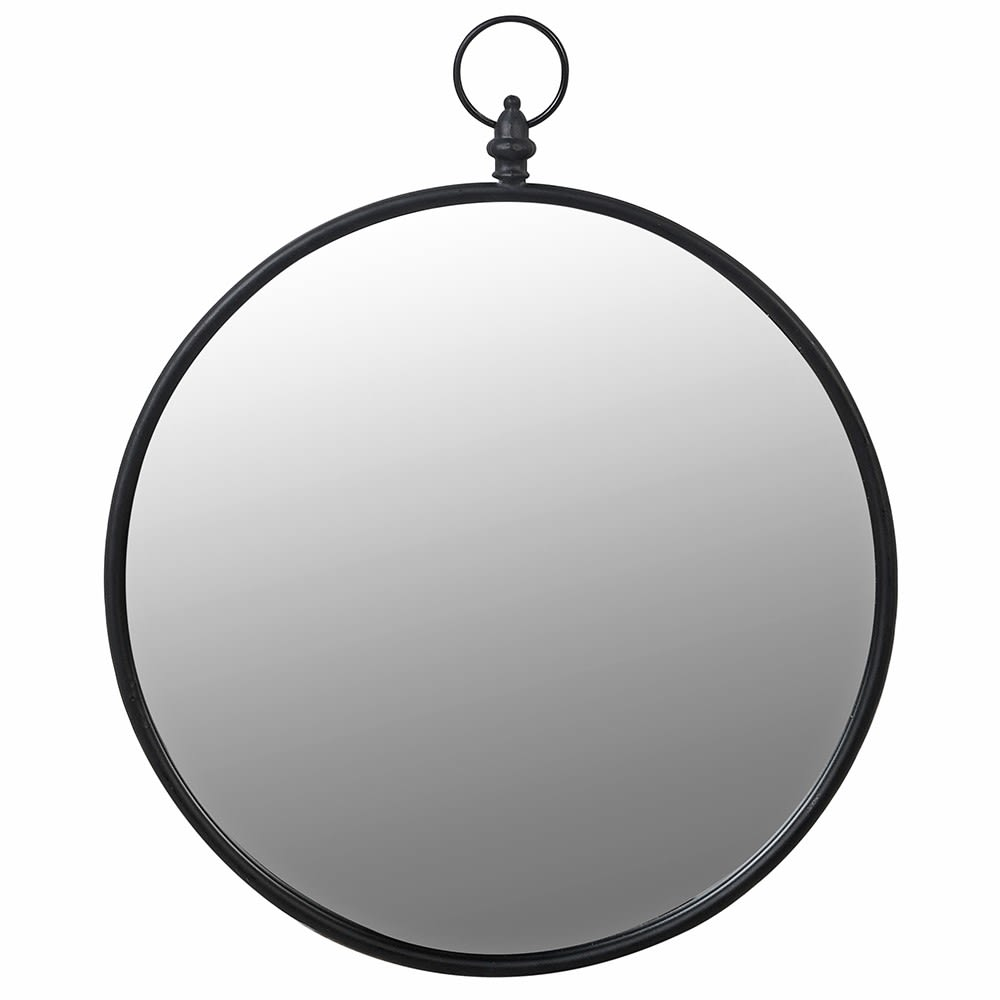 Ring Top Round Mirror