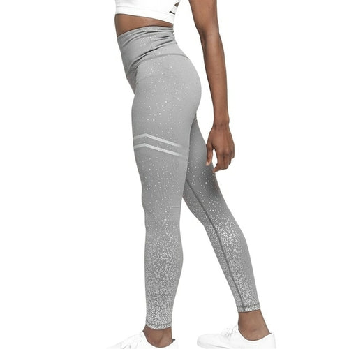 Varsity Striped Sparkle Leggings