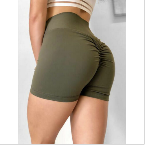 Load image into Gallery viewer, Womens High Waist Booty Scrunch Short