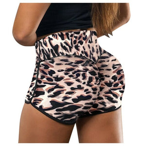 Leopard Compression Shorts