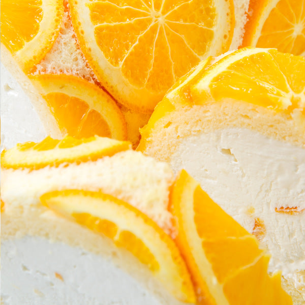 Shinkinedo Sweet & Sour Orange and Lemon Swiss Roll Cake