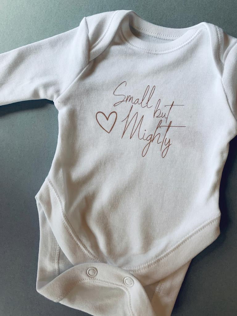 Tiny Baby Bodysuit - Small but Mighty
