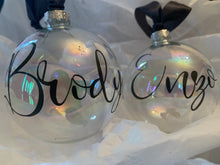 Load image into Gallery viewer, Personalised Christmas Baubles