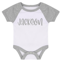 Load image into Gallery viewer, Short sleeve baby bodysuit