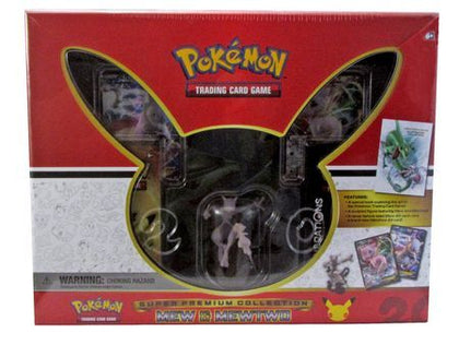 Mew & Mewtwo Super Premium Collection
