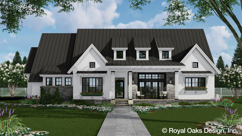 Ariana Marie Ranch House Plan