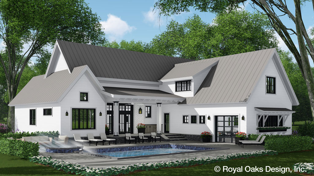 Foxtail Farm Modern Farmhouse Plan