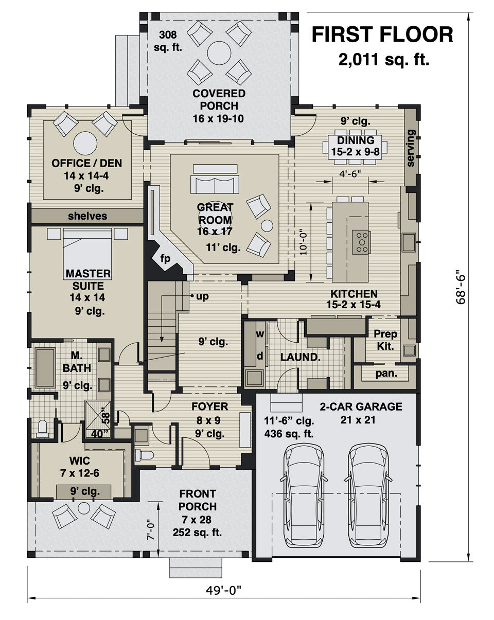 Middlebrook House Plan