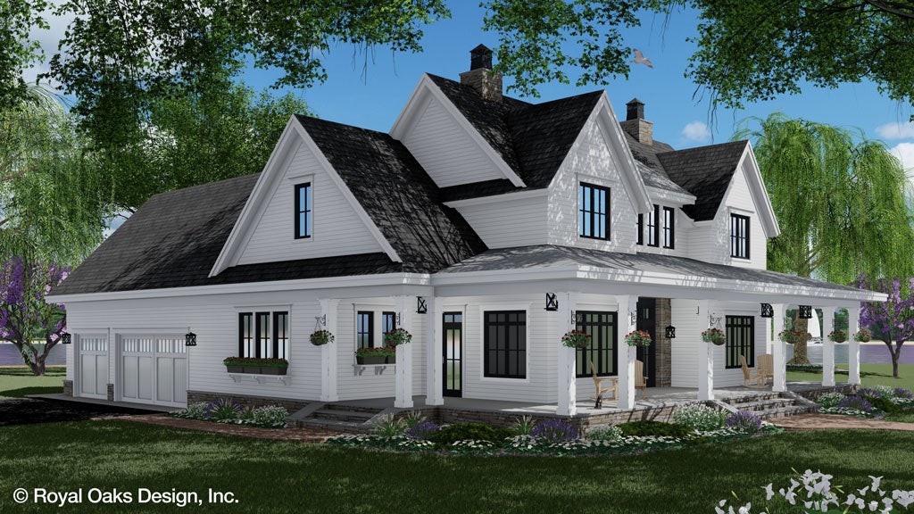 Misty Falls Farmhouse Plan