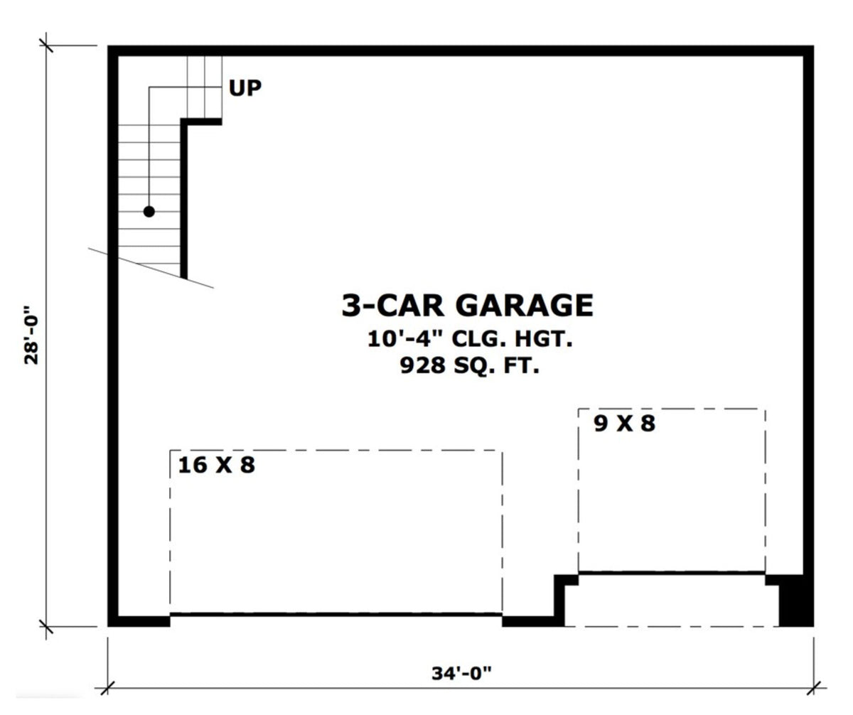 Three Car Garage Shop