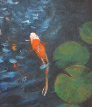 Load image into Gallery viewer, Living Jewel Koi and Lily Pad