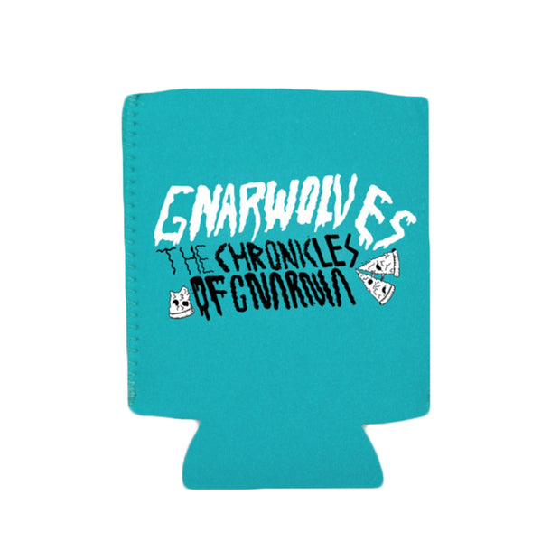 The Chronicles Of Gnarnia Blue Koozie
