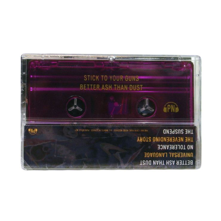 Better Ash Than Dust - Cassette