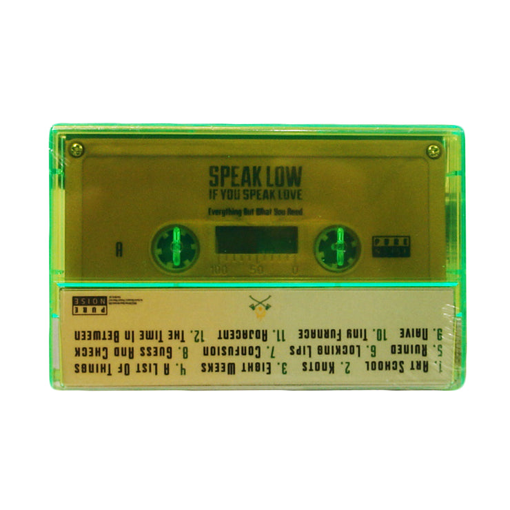 Speak Low Everything But What You Need Solid Gold Cassette