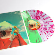 Hello, It's You - Half Ultra Clear/Half Mint with Heavy Red Splatter
