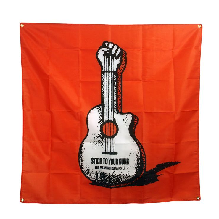 Guitar - Wall Flag